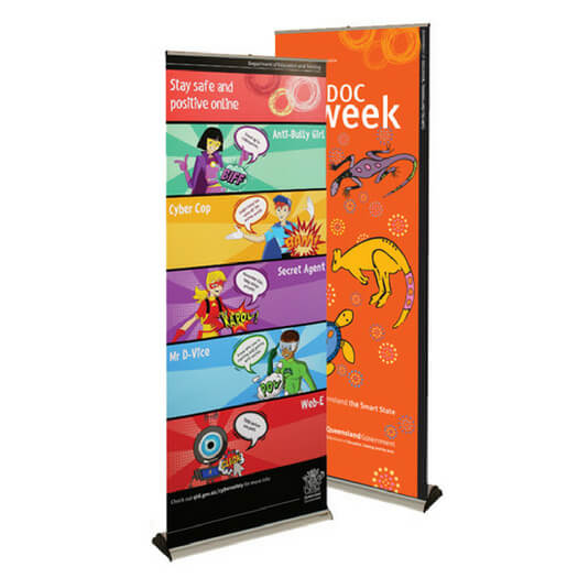 Banner Bug Retractable Banner