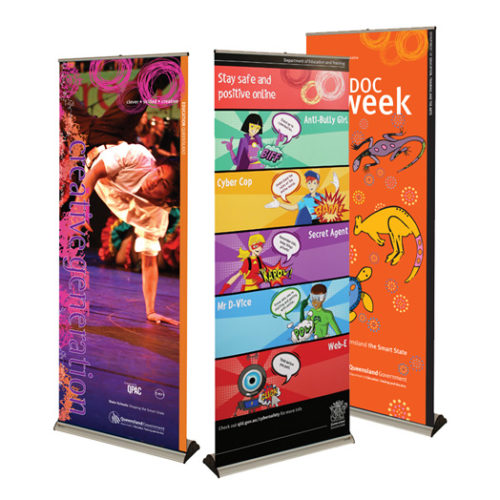 Banner Bug retractable banners