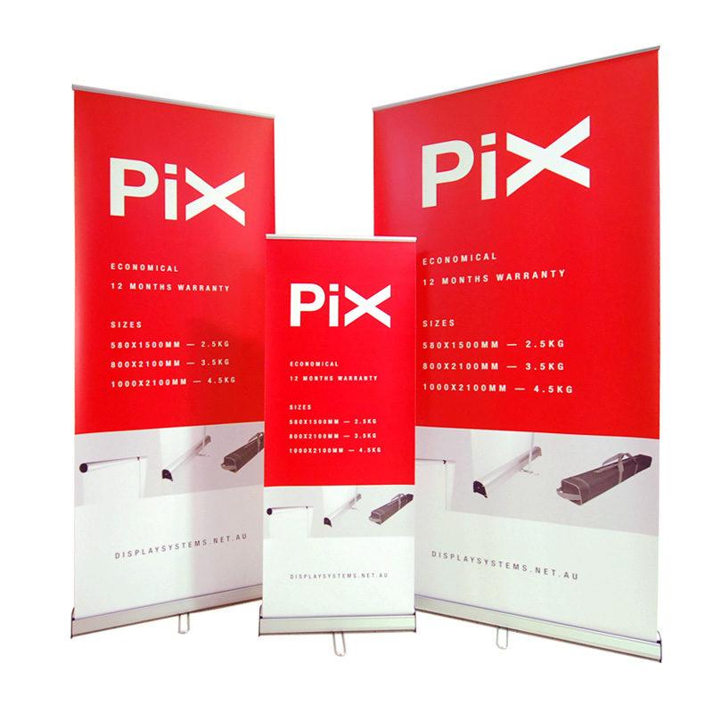 Retractable Banner Pix 80