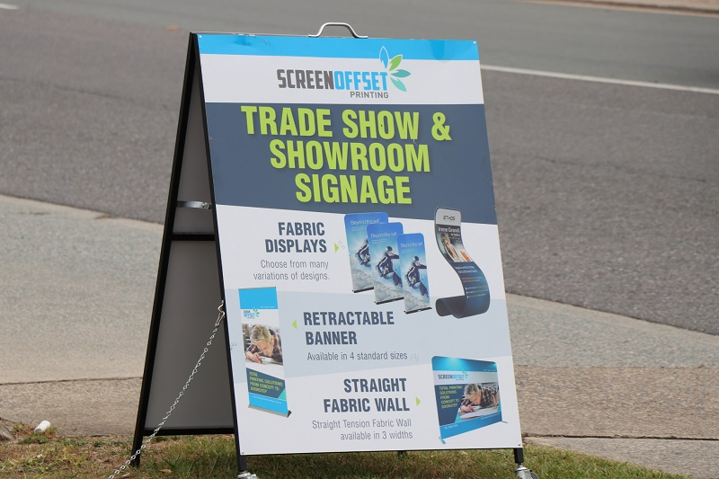 Trade Show and Show Room Signage