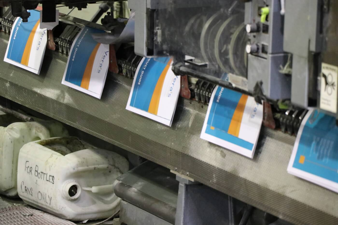 Saddle Stitching Booklets